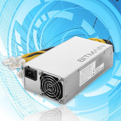 New Original AntMiner APW3++ 1600W PSU Power Supply for Antminer D3 S9 / L3 Asic
