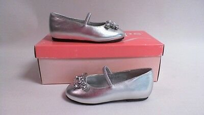 Touch Ups Kids Bridesmaids Shoes - Twinkle- Silver - Kids US 7M - UK 6  #6E218