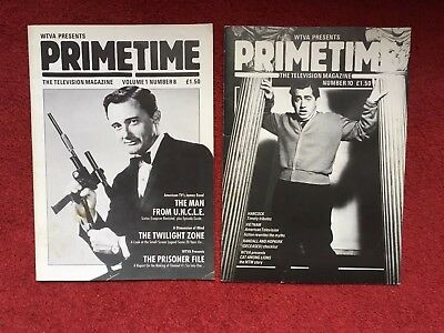 Primetime Magazines (2) - Prisoner, Man From UNCLE, Hancock,