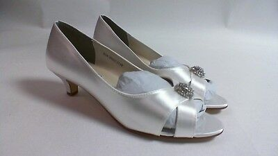 Touch Ups Wedding Shoes - White - Dot - US 8.5 M UK 6.5 #23D324