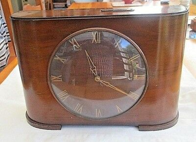 Rare Vintage  Unusual Large Insurance Collection Moneybox Clock To Take Florins