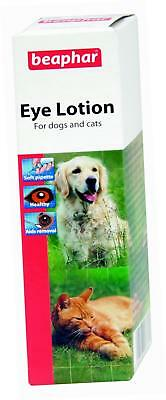 Beaphar Cleansing Lotion for Eye Care–Cats & Dogs–50 ml