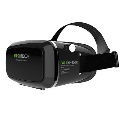 SHINECON 3D VR Glasses, 3D VR Headset Virtual Reality Box with Adjustable L L8M8