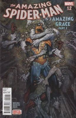 Marvel Amazing Spider-Man #1.2 Amazing Grace 1St Print