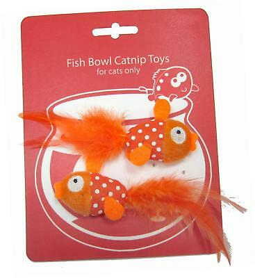 Happy Meow Goldfish Catnip Toy