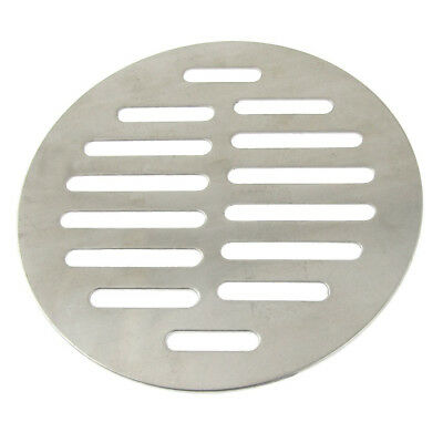Household bathroom 14 holes round stainless steel floor ventilation grid wa F1H2