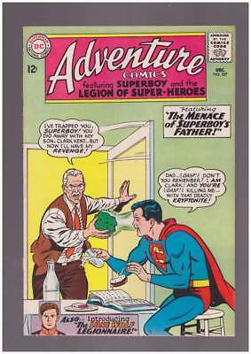 Adventure Comics # 327 Menace of Superboy's Father ! grade 8.0 scarce book !!