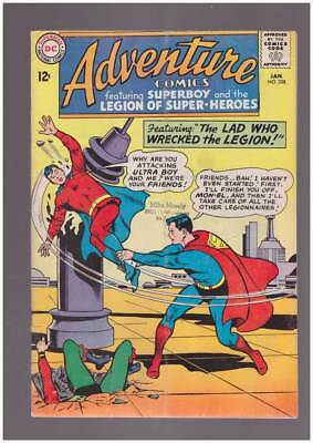 Adventure Comics # 328 Lad Who Wrecked the Legion ! grade 4.0 scarce book !!