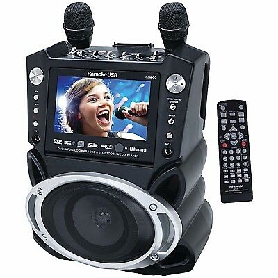 Karaoke Machine System With Microphone TFT Digital Color Screen Record Function