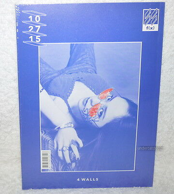 f(x) fx Vol.4 4 Walls Taiwan Ltd CD+76P bookler+Card (KRYSTAL Cover)