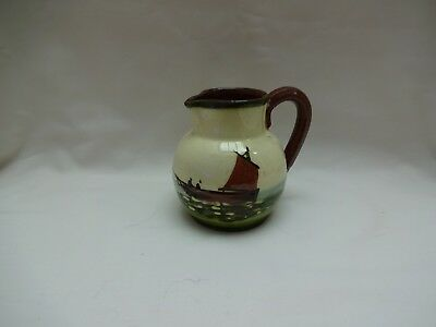 Antique / Vintage Motto Ware Cream Jug