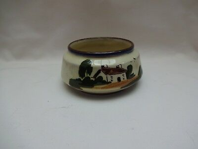 Vintage Devon Motto Ware Pot / Sugar Bowl