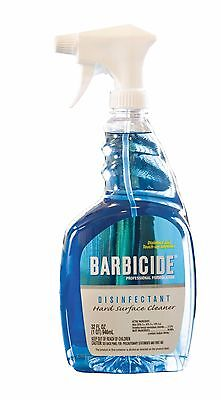 Barbicide® Spray Hard Surface Cleaner Disinfectant, Surfaces, Tanning Beds 32oz