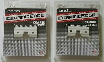 Andis Ceramic Edge Clipper Blade Replacement/alternative Cutter Coarse Or Medium