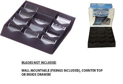Oster Arctic Igloo Clipper Blade Storage Case Box Oster 97, Andis, Wahl, Pet
