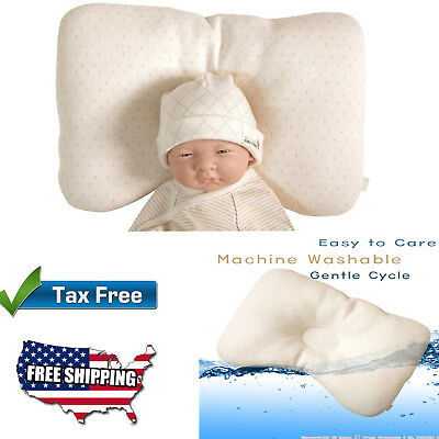Organic Cotton Baby Protective Sleeping Pillow Newborn And Prevent Flat Head New