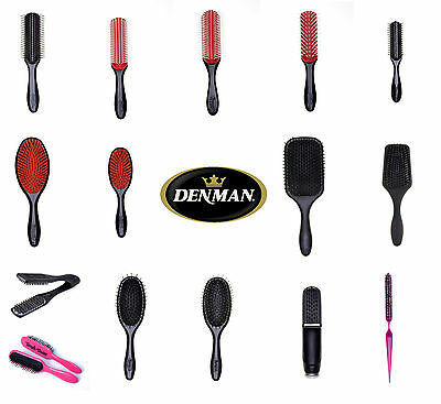 Denman Styling Hair Brush D1 D3 D4 D31 D33 D79 D80S/l D83 D84 D85/mp D87 D90 D91