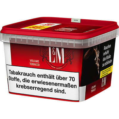 4 x 210g L&M Red Volumentabak Mega Box Tabak Eimer