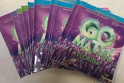 Grade 3 Go Math Common Core Teacher Edition Set 3rd Chapters 1-12 +PG