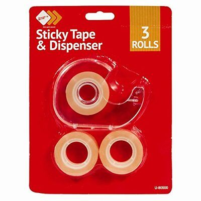 Sticky Tape Dispenser - 3 Piece