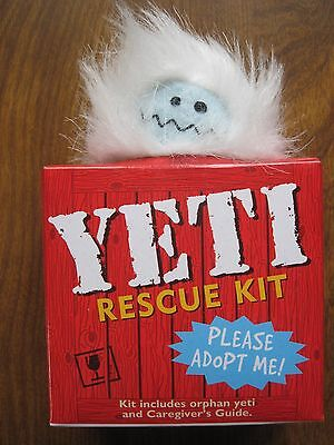 *NEW* YETI Rescue Kit, including orphaned Yeti and Caregiver's Guide