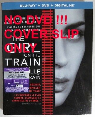 No Discs !! Girl On The Train Blu-Ray Cover Slip Only - No Discs !    (Inv14663)