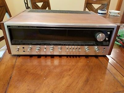 Pioneer SX-1010 AM/FM Stereo Receiver 100 watts Per Channel in EUC