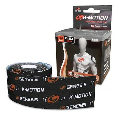 Genesis Bowling K-Motion Tape - Black - Free Shipping!