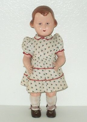 """Antique/Vintage 16"""" CELLULOID GIRL DOLL Character Face"""