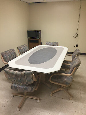 Corian dining table and chairs (Local Pick Up only)