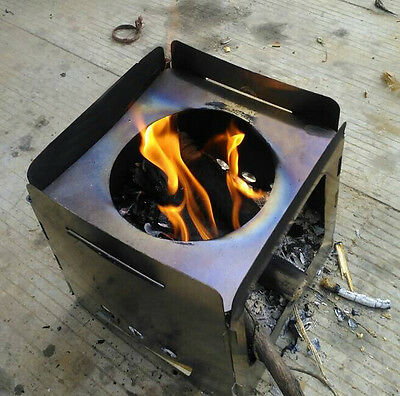 AU Solo Stove Backpacking Camping Outdoor Portable Wood Burning Picnic Hiking