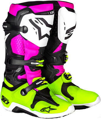 Alpinestars Tech 10 Radiant LE Boots - Dirtbike 2010014-1395