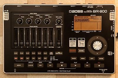 Used BOSS Digital Recorder BR-800 from JAPAN Free Shipping
