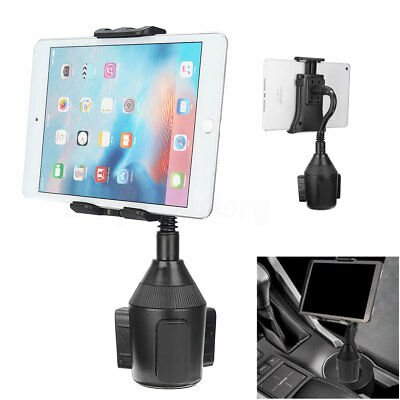 Car Cup Holder Mount Stand Adjustable Cradle For Mobile Phone iPhone Tablet GPS