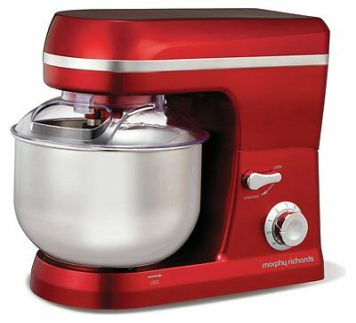 **superb** Morphy Richards Accents Stand Mixer - Red