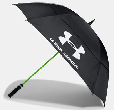 """Under Armour Extra Large Golf Umbrella 68"""" UA Windproof Double Canopy Automatic"""