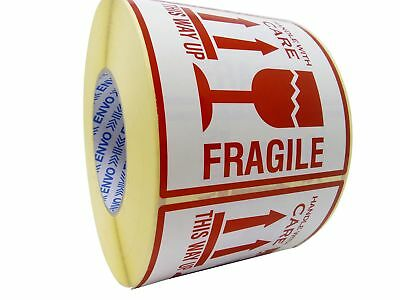 1,000 Fragile Stickers This Way Up Stickers Handle With Care Stickers Large Size