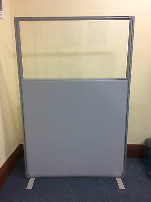 PerthPickupOnly! H180W120 RRP$1030 FREE STANDING OFFICE SCREEN PARTITION DIVIDER