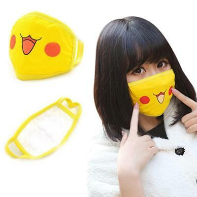 HOT Funny Mask Anime Monster Pokemon Muffle Anti-Dust Face Cosplay Prons Dust