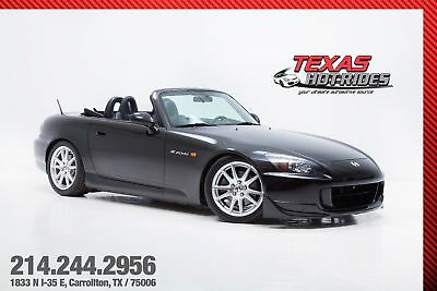 2004 Honda S2000 With Upgrades 2004 Honda S2000 Convertible Black/Black Extremely Clean! Low Miles MUST SEE!