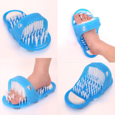 Foot Cleaner Scrubber New Easy Exfoliate Shower Washer Bath Brush Massager