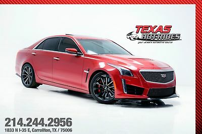 2016 Cadillac CTS V Sedan 4-Door 2016 Cadillac CTS-V Sedan! Many options, Red pearl! Black interior! MUST SEE!