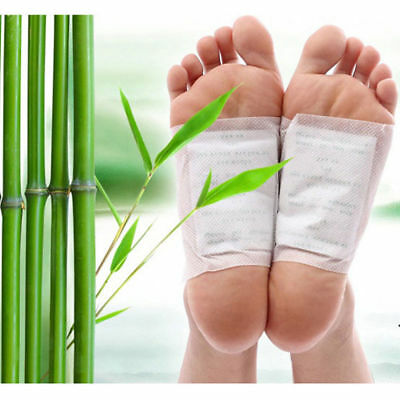 10 Natural Herbal Detox Fee Patches Pads - Body Toxins/Feel Slimming/Cleansing