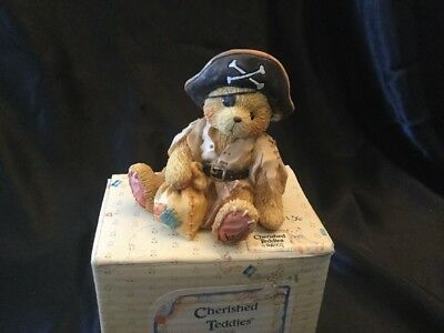 Cherished Teddies Taylor 617156 Sail The Seas With Me Bear Dressed As Pirate
