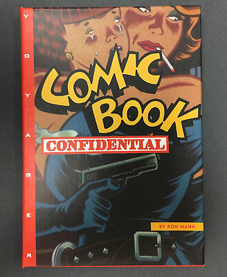 """Ron Mann's """"Comic Book Confidential"""" Voyager CD-ROM for Mac 1988, 1994"""
