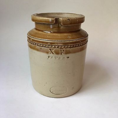Antique 1850 Stoneware Crock Stephen Green Imperial Potteries Lambeth England