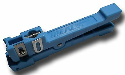 Ideal Fiber Optic / Coaxial Stripper Closepin Buffer Tube 45-163 1/8 to 7/32