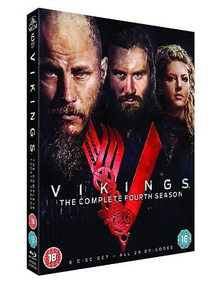 Vikings The Complete FOURTH Season Series 4 DVD All 20 Episodes 6 Disc Set NEW
