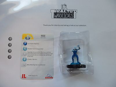 Heroclix Icicle #007 Justice League