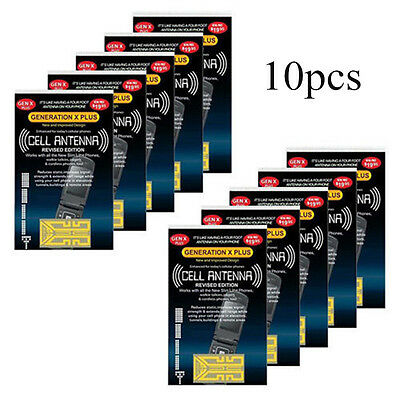 10X Cell antenna Booster generation Xplus REVISED GOLD edit. X plus phone mobile